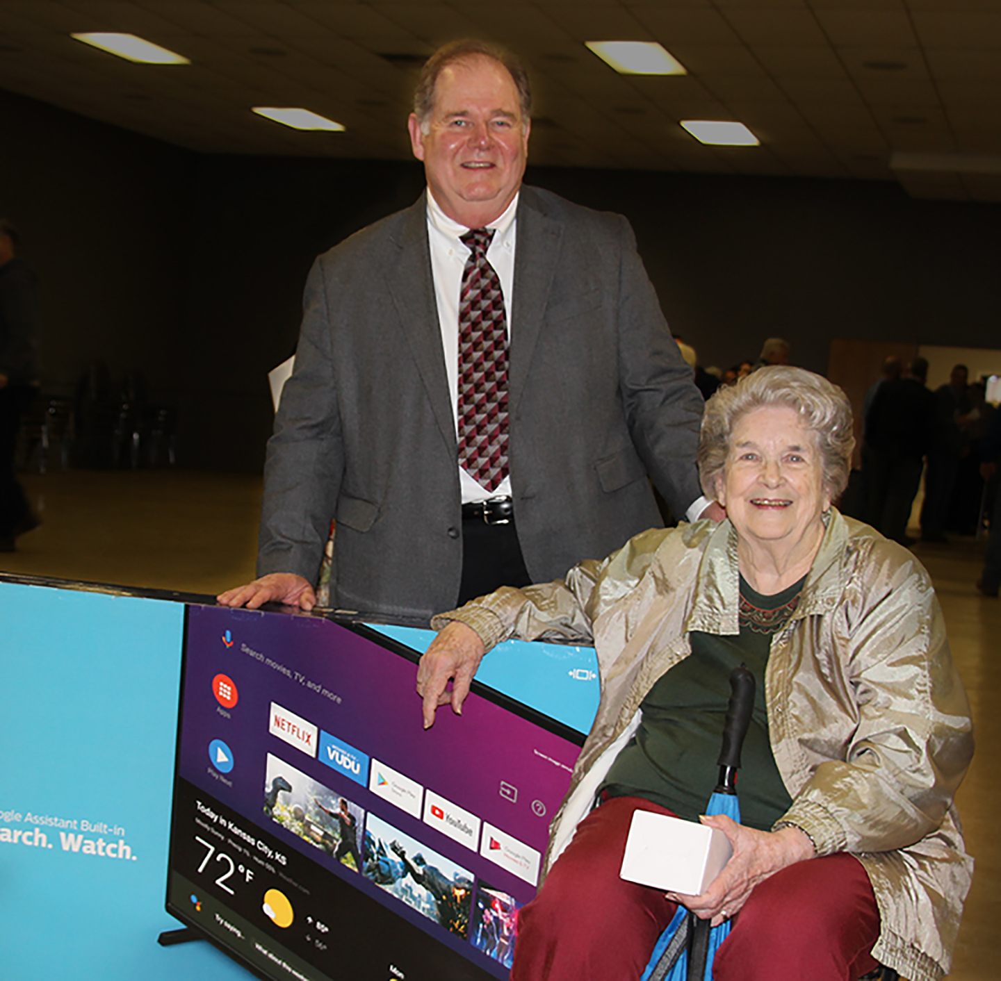 Annual Meeting Grand Prize TV Winner